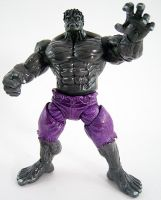 Custom Gray Hulk action figure by firebladecomics