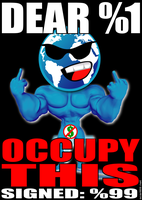 OCCUPY THIS by scart