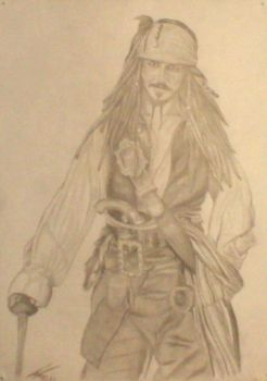 Jack Sparrow by lpjchinnery