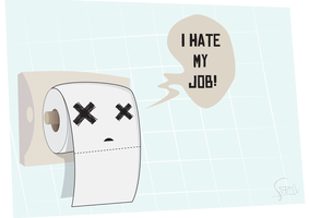 I hate my job by qvn