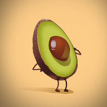 Avocado by hartvig-art18