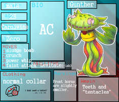 Gunther the Carnivine by OrcaCookie