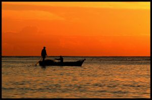 Dominican Fishing by IgorLaptev