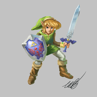 Link Between Worlds by AnimationGeek101