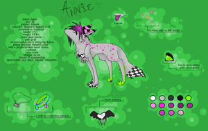 rEf six:: anniE by InsanityandMe