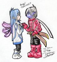 ToS and SD - Angel Toxicosis by chiyokins