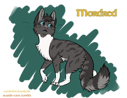 Cats of Camelot: Mordred by CatsInTheClouds