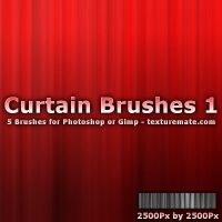 Curtain Brushes 1 by AscendedArts