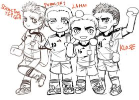 FIFA 2010 Germany Cute Style by skylord1015