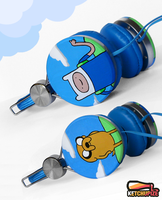 ''Adventure Time'' headphones II by Ketchupize