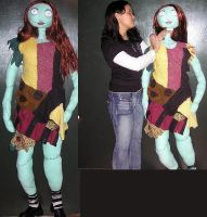 Human sized Sally by Lily-pily