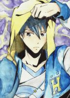 FREE! Nanase Haruka /watercolour/ by deicus4ever