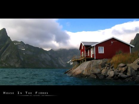 House In The Fjords by Metalstorm