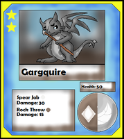Gargquire Card (Adopt) by Dianamond
