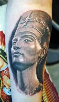 Nefertiti by gettattoo