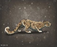 Snow leopard by xXNuclearXx