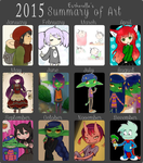 2015 Summary of Art by Estherella