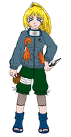 Naruto OC - colored by ShadOBabe