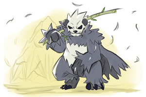 PANGORO by shinyscyther