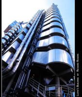 Lloyd's by Richard Rogers by girl