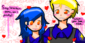 Wesker and I by xXChiBiHighNessXx