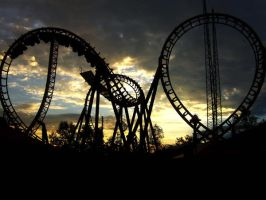 Sunset Coaster by Nashmetro