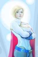 Power Girl...posing by strib