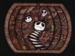 Paisley Pumpkin Nightmare by Quaddles-Roost