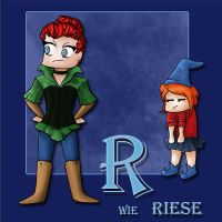 R wie Riese by syccas