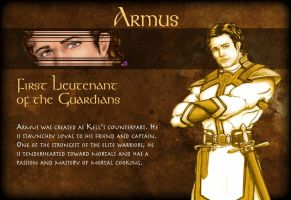 Armus Character Page by TheLadyNerd