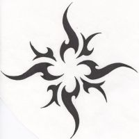 Tattoo-Tribal Sun version 2 by HollowMinded