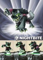 Fan Skylander: Nightbite by weremagnus