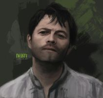 Future Castiel by VikingSif
