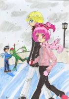 Skating on a Winter Day- RxI by Tamao