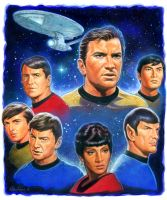 Star Trek Original Crew by Habjan81