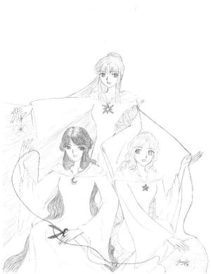 3 Fates by Atlantis Forester