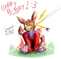 B-Day Pic for RickGriffin by JohananP
