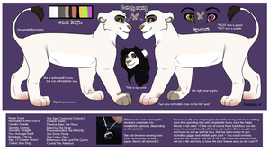 NEW Frosst Lioness Reference Sheet 2014 by Lluma