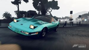 FH2: Barbie Corvette by eyecrunchyfraug