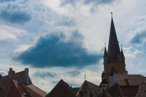 Sibiu skyline by NobodyLoryo