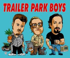 TRAILER PARK BOYS by MalevolentNate