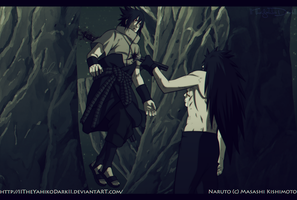 Naruto 661 You Will Die In The Dark by IITheYahikoDarkII