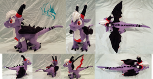 Kashi - Custom Plush by Fire-Topaz