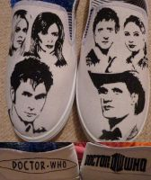 Doctor Who Shoes by Haari
