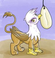 Gilda With a Cuttlebone by muffinshire
