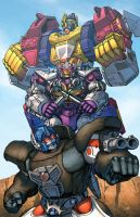 Optimus Primal by Dan-the-artguy