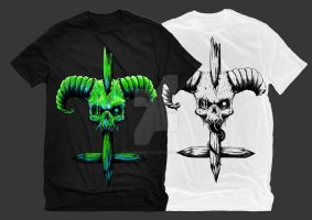 Skull n Cross For Sale by TheFranology