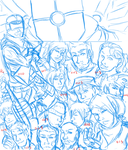 Original story 'cover' WIP by snakes-on-a-plane