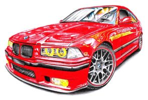 BMW M3 E36 by Arek-OGF