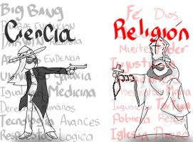 Ciencia Vs Religion by Leirock123